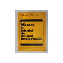 METODE SI TEHNICI DE MUNCA INTELECTUALA de L. TOPA ..MARIA DEBRUYKER , 1979