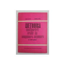 METODICA DESFASURARII ORELOR DE COMPUNERE - EXPUNERE LA CICLUL PRIMAR de VASILE MOLAN si MARCELA PENES , 1983