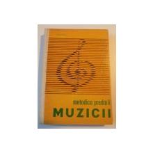 METODICA PREDARII MUZICII de  ION SERFEZI 1967