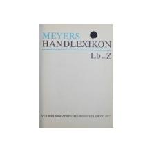 MEYERS HANDLEXIKON , VOL. I - II von HEINZ GOSCHEL , 1977