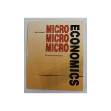 MICROECONOMICS - AN ADVANCED INTRODUCTION by ALAN HOCHSTEIN , 1993 , PREZINTA PETE SI URME DE INDOIRE *