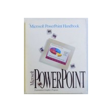 MICROSFT POWER POINT HANDBOOK - PRESENTATION GRAPHICS PROGRAM , 1992
