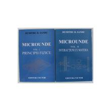 MICROUNDE de DUMITRU D. SANDU , VOLUMELE I - II , 2005