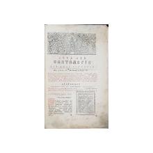 MINEIUL LUNII SEPTEMBRIE de SCHIMONAHUL ISAIIA SI IEROMONAHUL INOCHENTIE - MANASTIREA NEAMTU, 1832