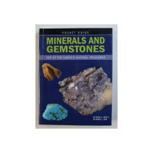 MINERALS AND GEMSTONES - 300 OF THE EARTH'S NATURAL TREASURES by DAVID C. COOK and WENDY L. KIRK, 2008
