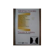 MINIMA MORALIA de THEODOR W. ADORNO , 1999