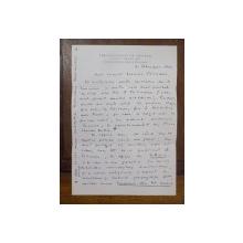 Mircea Eliade, Scrisoare semnata de M. Eliade catre Alice Calinescu, Universitatea din Chicago 1974