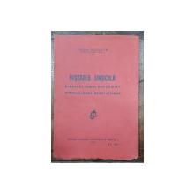 MISCAREA SINDICALA de TOMA RICONTE - BUCURESTI, 1930 *DEDICATIE