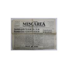 MISCAREA , ZIAR , ANUL XXVIII , NO . 1652 , DUMINICA , 15 NOIEMBRIE , 1936