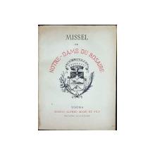 MISSEL DE NOTRE-DAME DU ROSAIRE - TOURS, 1910
