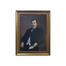 Misu Popp (1827-1892) - Negustorul Dumitru I. Boanta din Braila si sotia sa