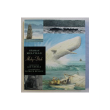 MOBY - DICK OR THE WHALE , illustrated by PATRICK BENSON , by HERMAN MELVILLE , 2009