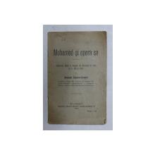 MOHAMED SI OPERA SA  - CONFERINTA de GHEORGHE POPESCU - CIOCANEL , 1909