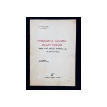MONOGRAFIA COMUNEI STELIAN POPESCU fosta satul LACUL TURCULUI din judetul Prahova de V. P. IOAN-MIU - BUCURESTI, 1937
