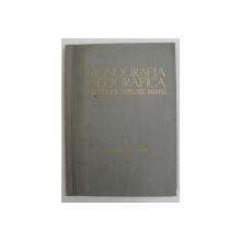 MONOGRAFIA GEOGRAFICA A REPUBLICII POPULARE ROMANE , VOLUMUL I - GEOGRAFIA FIZICA - ANEXE , 1960