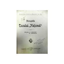 MONOGRAFIA LICEULUI NATIONAL DIN IASI  - D. POMPEIU