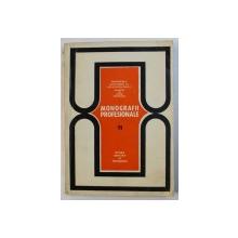 MONOGRAFII PROFESIONALE, PROFESIUNI DIN DOMENIUL INDUSTRIEI ENERGETICE de ION BERARU ... DUMITRU SERBANESCU , 1972