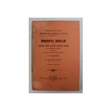 MONOGRAFIILE SCOALEOR DIN GHERGHITA , PANAGHIA , BUSTENI SI GAINESTI DE PE DOMENIILE COROANEI INTOCMITE DE INVATATORII DIRIGINTI , cu o precuvantare de ION KALINDERU , 1907