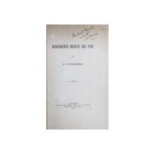 MONUMENTE INEDITE DIN TOMI de D.M. TEODORESCU , 1915 , DEDICATIE*