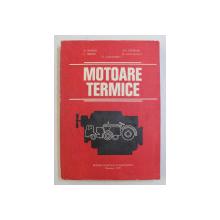 MOTOARE TERMICE de N. BATAGA ...N. CARAMAVRU , 1979