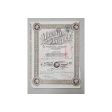 MOVILA TEKIRGHIOL - SOCIETATE ANONIMA -  10 ACTIUNI NOMINATIVE DE 500 DE LEI FIECARE , 1920