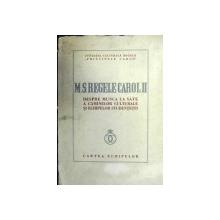 MS REGELUI CAROL- DESPRE MUNCA LA SATE A CAMINELOR CULTURALE  SI ECHIPELOR STUNDENTESTI
