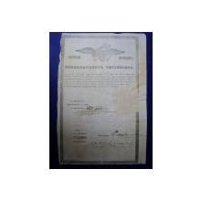 Muscel, Departamentul Vistieriei Patent negustor Dumitru Ioan 1846