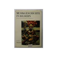 MUSIKGESCHICHTE IN BILDERN  - OZEANIEN - BAND I  - MUSIKETHNOLOGIE / LIEFERUNG 1  von PAUL COLLAER , 1965