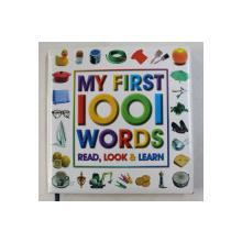 MY FIRST 1001 WORDS READ , LOOK and LEARN , 1995