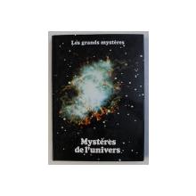 MYSTERES DE L ' UNIVERS par ROY STEMMAN , COLLECTION LES GRANDES MYSTERES , TOME I , 1979