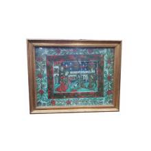 Nasterea lui Iisus - Icoana Romaneasca pe sticla, Secol 19