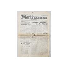 NATIUNEA  - FOAIA INTELECTUALITATII , ANUL XI , NO. 2669 , DUMINICA 8 APRILIE 1923
