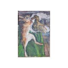 Natura moarta cu vanat, M. Grosman(?), 1934