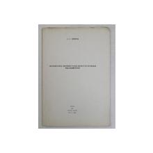 NECESITATEA METODEI FILOLOGICE IN STUDIILE FOLCLORISTICE de I. C. CHITIMIA *DEDICATIE