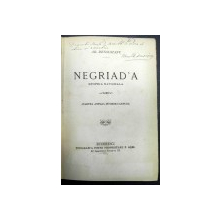 NEGRIAD'A  EPOPEA NATIONALA - AR. DENSUSIANU