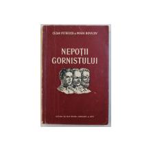 NEPOTII GORNISTULUI - scenariu cinematografic  de CEZAR PETRESCU si MIHAI NOVICOV  , 1952 , DEDICATIE*