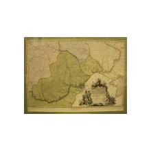 Neueste Karte von der Moldau Walachei Bassaraben und der Krim 1789, Noua harta a Moldovei, Valahiei, Basarabiei si Crimeii 1789