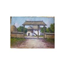 Nicolae Romanescu (1854-1931) - Casa batraneasca