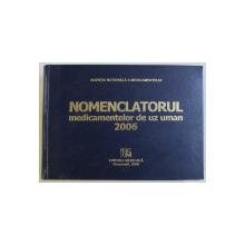 NOMENCLATORUL MEDICAMENTELOR DE UZ UMAN 2006