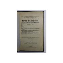 NORME DE PROJECTARE ALE COMISIUNEI GERMANE PENTRU BETON ARMAT , SEPTEMBRIE 1925  de RADU M. , APARUTA 1927