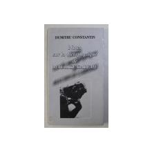 NOTES SUR LA METAPHYSIQUE DE MAURICE CAREME par DUMITRU CONST. , 2002
