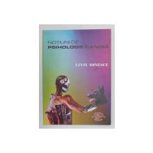 NOTIUNI DE PSIHOLOGIE CANINA de LIVIU IONESCU , 2009