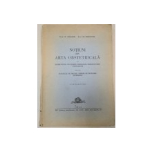 NOTIUNI DIN ARTA OBSTETRICALA-CR. GRIGORIU , TR POPOVICIU  1944