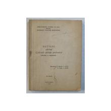 NOTIUNI PRIVIND CONTROLUL CALITATII PRODUSELOR ,  intocmit de T. BARON si C. CUSA , 1971