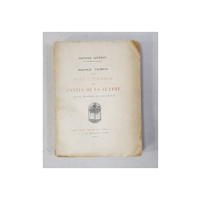 NOTRE TEMPS , TOME II - SOUVENIRS DE LA ANNES DE LA GUERRE par GUSTAVE GEFFROY , AVEC UN FRONTISPICE DE LOUIS ANQUETIN , 1920 , DEDICATIE*