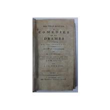 NOUVEAU RECUEIL DE COMEDIES ET DE DRAMES A L ' USAGE DE LA JEUNESSE par C. F. WEISSE , TOME I , 1802