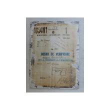 NR. 4701 - DOSAR DE VERIFICARE PRIVIND PE BERGER OSCAR , DE LA URMARIT LA UMARITOR de OSCAR BERGER , 2004
