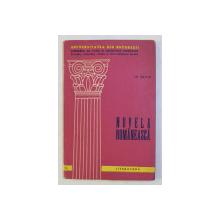 NUVELA ROMANEASCA de MIRCEA ZACIU , 1965