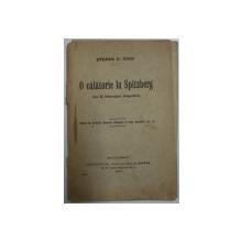 O CALATORIE LA SPITZBERG de STEFAN C. IOAN , 1916