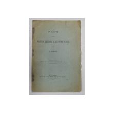 O CARTE DESPRE POLITICA EXTERNA A LUI PETRU RARES de C. GIURESCU , 1910